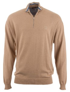 Paul & Shark Superlight Cotton Watershed Sweater Zand