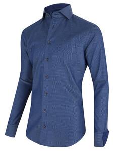 Cavallaro Napoli Zormo Shirt Midden Blauw