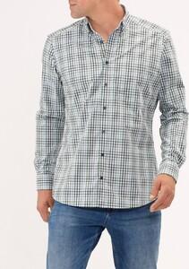 Maerz Check Shirt Forrest Shade