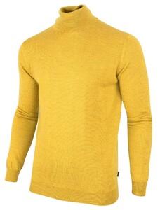 Cavallaro Napoli Merino Roll Neck Pullover Geel