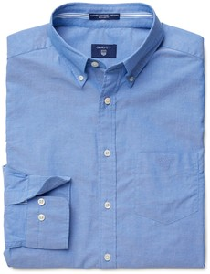 Gant Washed Pinpoint Oxford Nautical Blue
