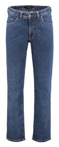 Gardeur Nevio 5-Pocket Jeans Midden Blauw