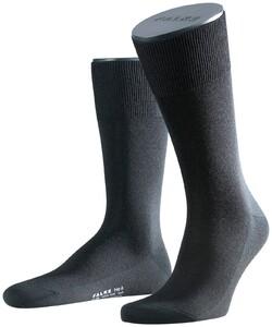 Falke No. 6 Socks Finest Merino and Silk Black