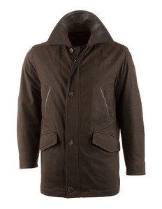 Pierre Cardin Amaretta Cashmere Touch Long Jacket Donker Bruin