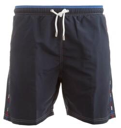Paul & Shark Flag Logo Shorts Navy