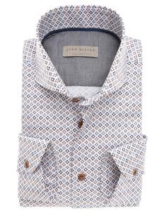 John Miller Luxury Weave Design Fantasy Donker Bruin
