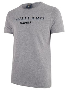 Cavallaro Napoli Terra R-Neck Midden Grijs