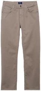 Gant Jason Comfort Desert Twill Jeans Midden Bruin
