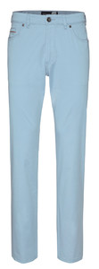 Gardeur Nevio Regular-Fit Summer 5-Pocket Licht Blauw
