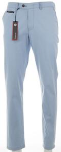 Gardeur Smart CottonFlex Flat-Front Licht Blauw