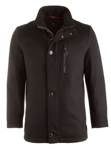 Pierre Cardin Gore Tex Wool Jacket Black