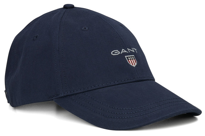 Gant Basic Cap in kleur Navy  1a59aea93c3