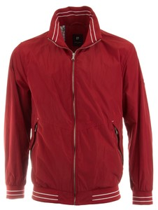 Pierre Cardin Sports Contrast Short Jacket Rood