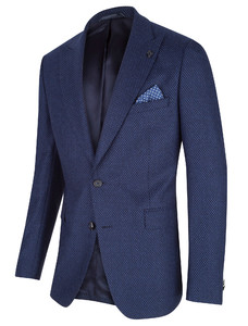 Cavallaro Napoli Gadoni Jacket Midden Blauw