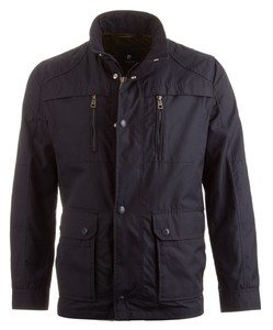 Pierre Cardin All Weather Techno Coated Jacket Navy