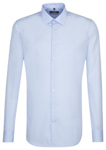Seidensticker X-Slim Uni Sleeve 7 Aqua Blue