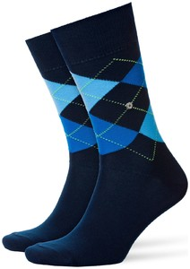 Burlington King Socks Dark Marine