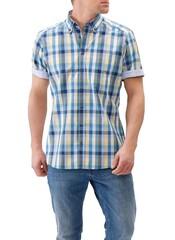Maerz Big Check Shirt Sailor