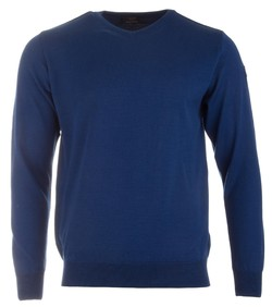 Paul & Shark Basic Merino Extra Fine Royal Blue
