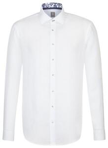 Jacques Britt Linnen Shirt Wit