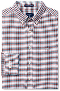 Gant The Oxford 3 Color Gingham Smoked Paprika