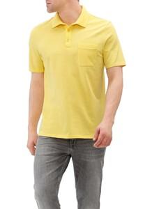 Maerz Cotton Uni Polo Mai Tai Yellow
