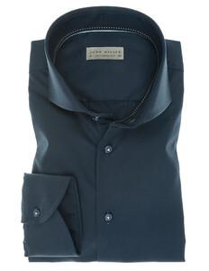 John Miller Luxury Plain Twill Donker Blauw