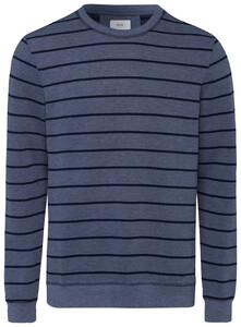 Brax Sawyer Sweatshirt Diep Blauw