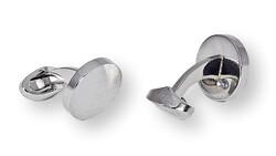 Eton Manchetknopen Silver Bright