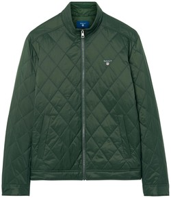 Gant The Quilted Windcheater Country Green