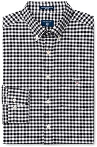 Gant The Oxford Gingham Zwart