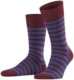 Falke Even Stripe Sock Barolo