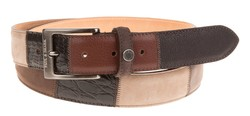 Paul & Shark Nature Colored Multitone Belt Multicolor