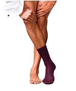 Falke No. 10 Socks Egyptian Karnak Cotton Burgundy