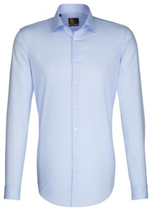 Seidensticker Slim Extra Long Sleeve Aqua Blue