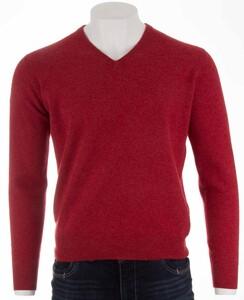 Alan Paine Albury Geelong V-Neck Pullover Poppy