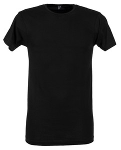 Alan Red Derby 2-Pack T-Shirt Zwart