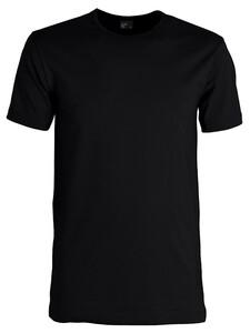 Alan Red Iowa T-Shirt T-Shirt Zwart