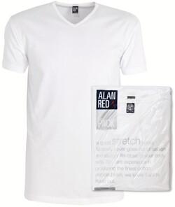 Alan Red Oklahoma 2-Pack T-Shirt White