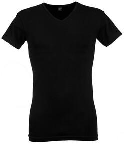 Alan Red Oklahoma 2-Pack T-Shirt Zwart