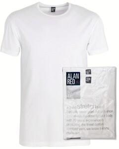 Alan Red Ottowa 2-Pack T-Shirt White