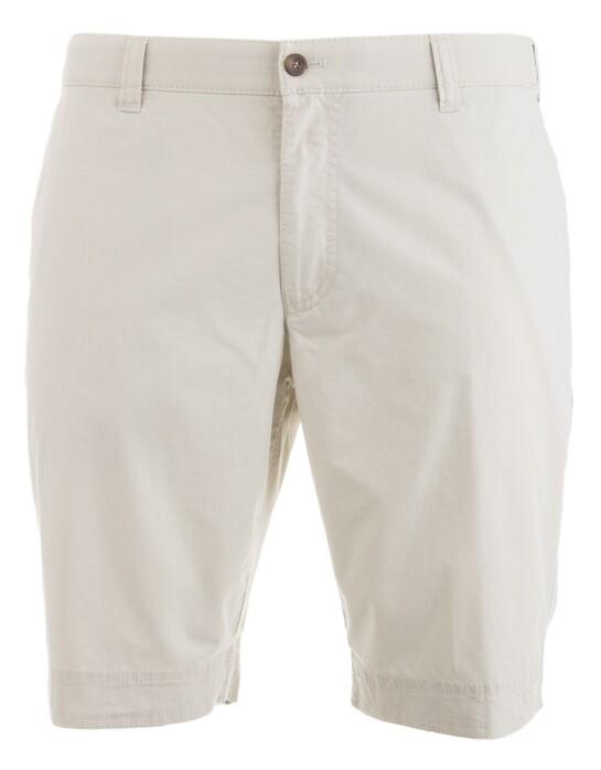MENS Modern Fit Kuba Shorts Bermuda in kleur Kitt