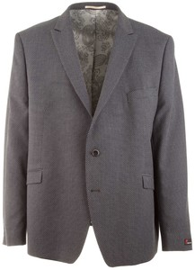 Atelier Torino Cassio Dot Structure Jacket Mid Grey