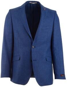 Atelier Torino Cassio Fine-Structure Jacket Cobalt Melange