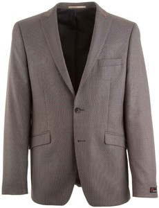 Atelier Torino Cassio Small Dots Jacket Blue-Brown
