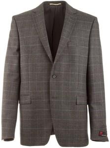 Atelier Torino Roma Bicolor Check Jacket Grey