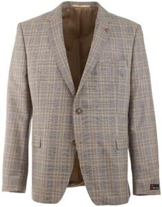 Atelier Torino Roma Classic Check Jacket Blue-Brown