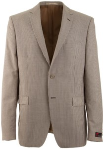Atelier Torino Roma Small Stripe Jacket Brown
