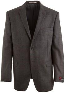 Atelier Torino Roma Subtle Dark Red Check Jacket Grey