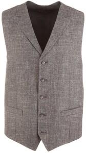 Atelier Torino Ultimo Fine-Structure Waistcoat Grey